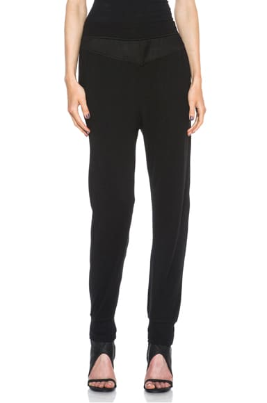 Long John Viscose-Blend Sweatpants