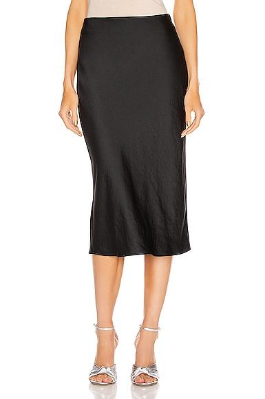 Light Wash & Go Mid Skirt