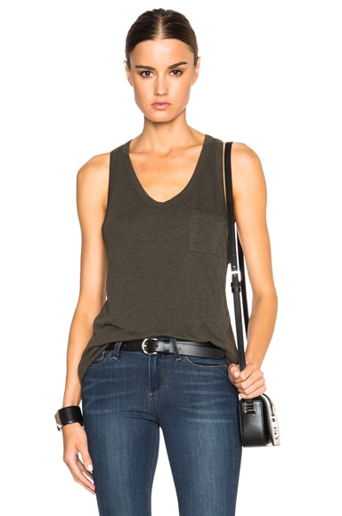 Classic Tank with Chest Pocket
