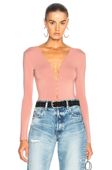 Lace Up Bodysuit