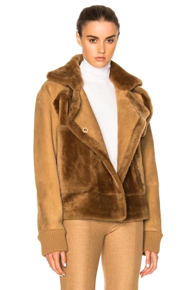 Sheep Shearling Aviator Jacket