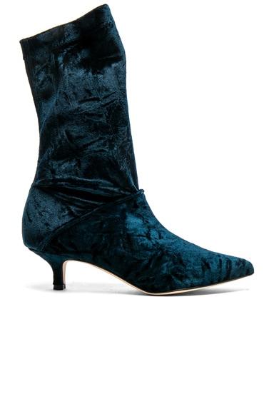 Harper Velvet Boots