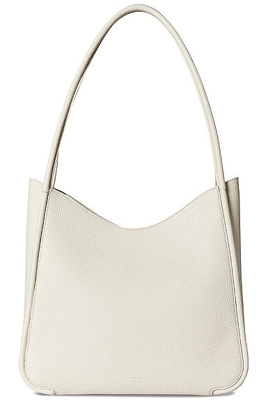 The Row SYMMETRIC GRAIN LEATHER TOTE