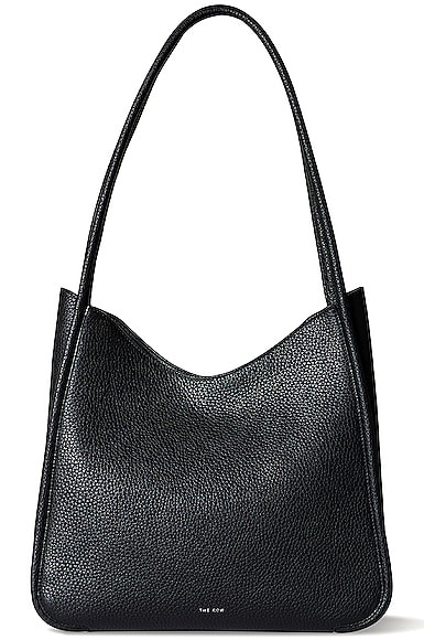 The Row Leathers SYMMETRIC GRAIN LEATHER TOTE