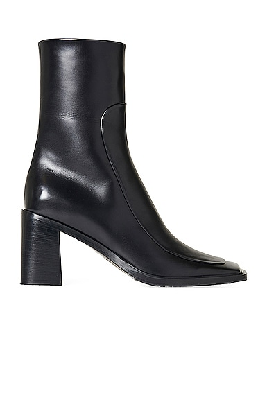 The Row Leathers PATCH LEATHER BOOTS
