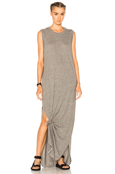 Sleeveless Knotted Dress