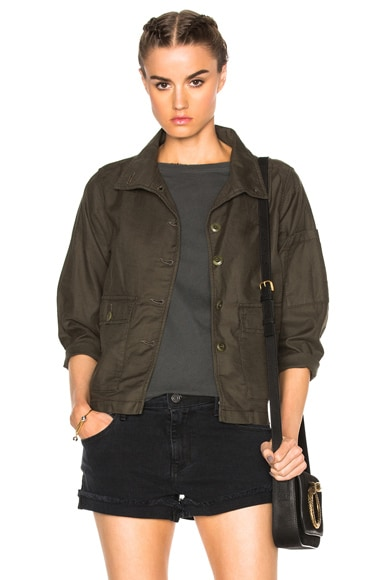 Station Jacket in Military