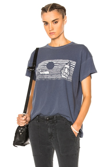 Boxy Whale Graphic Tee