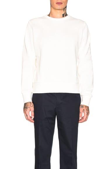 Honeycomb Pique Sweatshirt