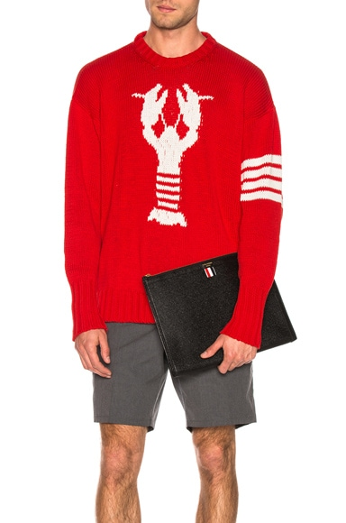 Lobster Icon Pullover