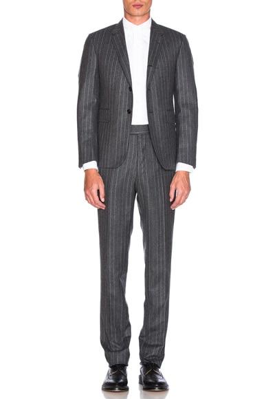 Chalk Stripe Wool Suit