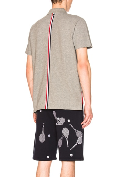 Relaxed Fit Pique Polo