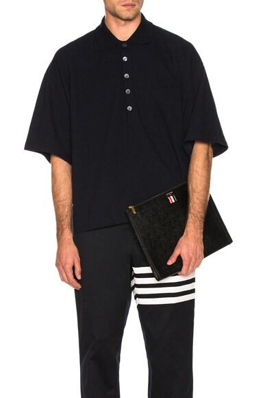 Oversized Pocket Polo