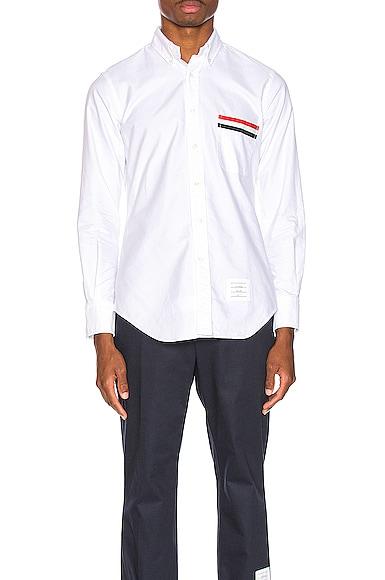 b5b98fcf60d6 Pocket Collar Button Down Shirt Pocket Collar Button Down Shirt. Thom Browne