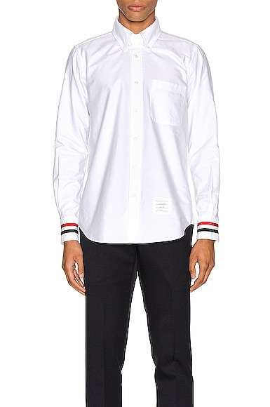 Classic Point Collar Button Up Shirt
