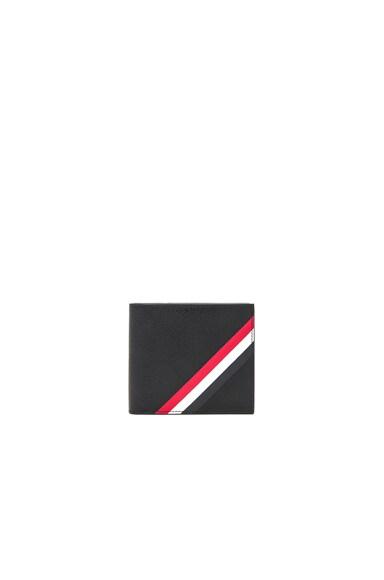 Diagonal Stripe Wallet