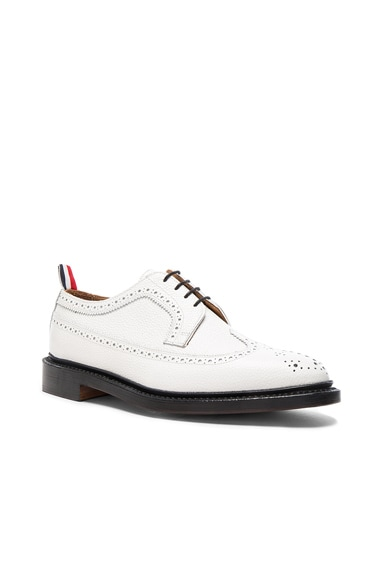 Contrast Longwing Leather Brogues