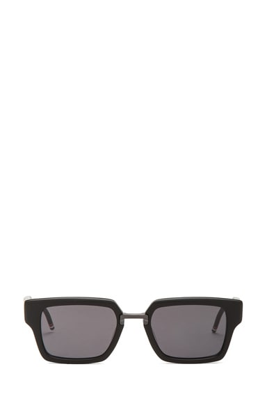 Thick Rectangle Frame Sunglasses