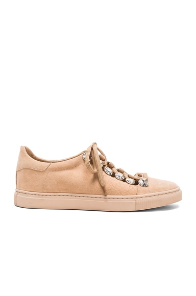 Studded Suede Sneakers