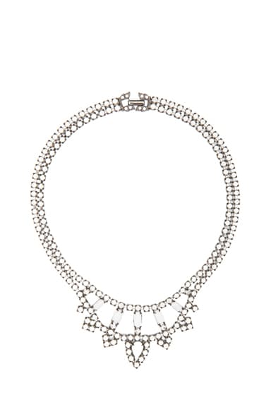 Carte Blanche Rhodium Plated Necklace