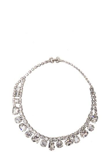 Small Crystal Asymmetric Necklace