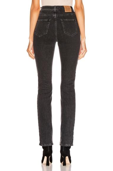 TOTÊME Straight jeans TOTEME STANDARD STRAIGHT LEG IN BLACK