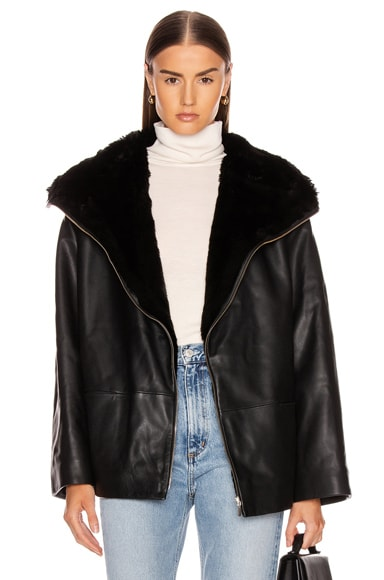 Reversible Annecy Leather Jacket
