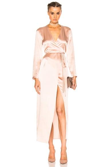 for FWRD Elyse Wrap Dress