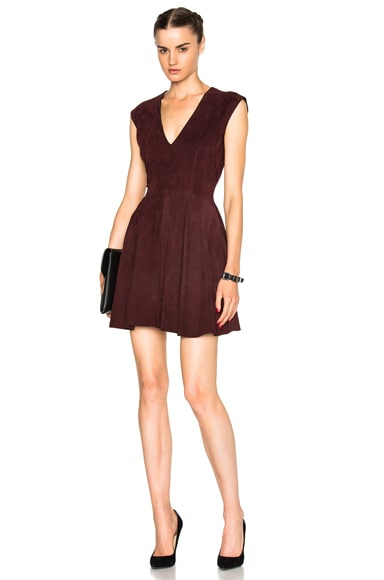 Rosie Suede Shift Dress