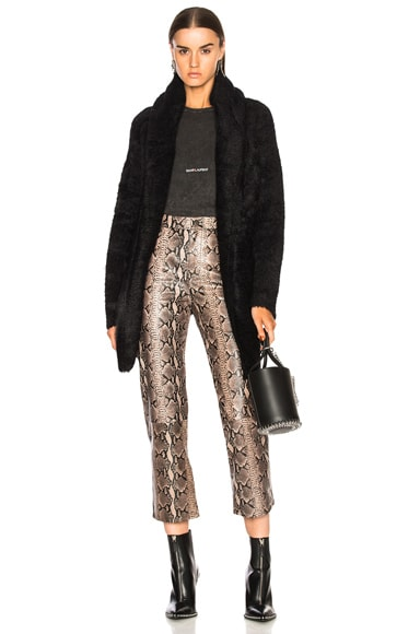 Collette Fuzzy Long Sweater