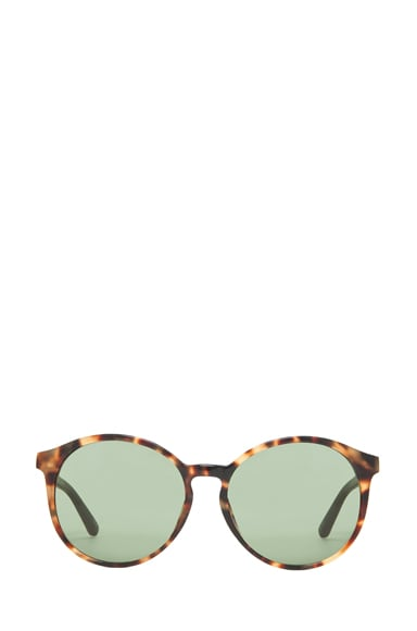 Classic Keyhole Round Sunglasses