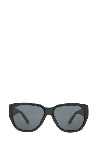 Rectangular D-Frame Sunglasses