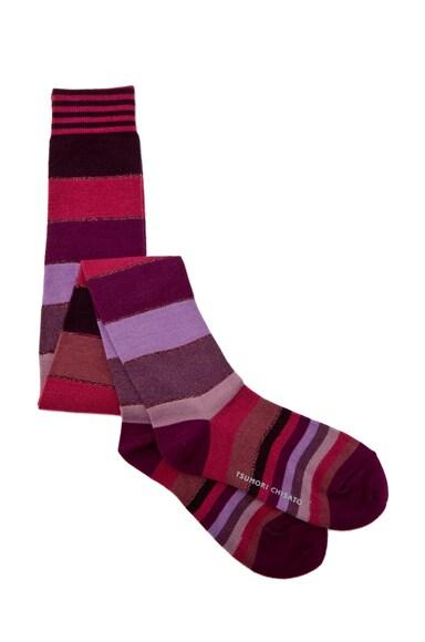 Gradation Stripe Socks