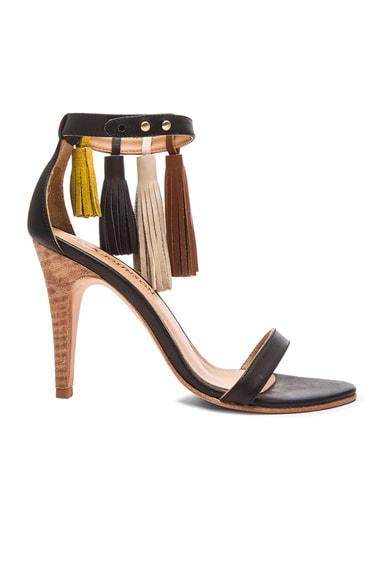 Luz Leather Heels