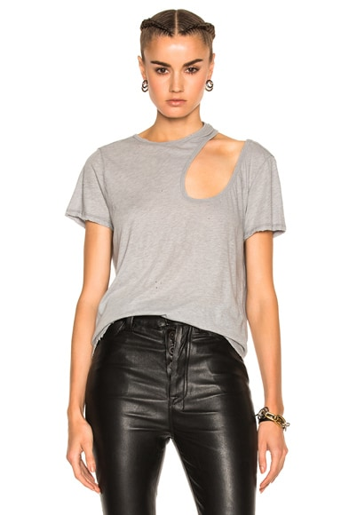 Cut Out Basic Tee