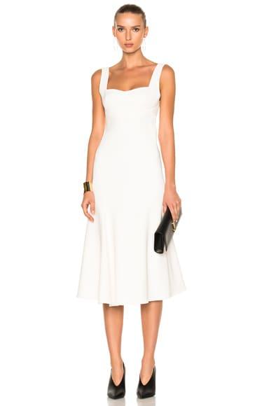 Flare Midi Dress