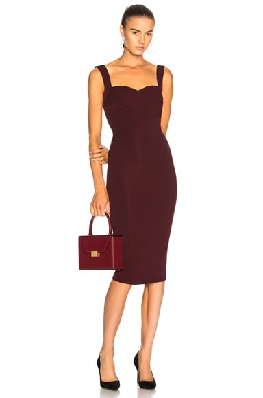 Dense Rib Cami Fitted Dress