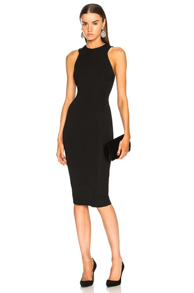 Racerback Fitted Midi Dress