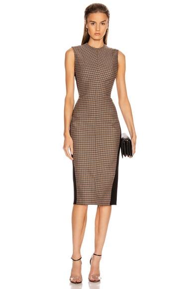 Sleeveless Darted Midi Dress