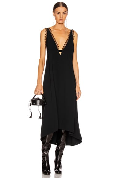 Lingerie Midi Dress