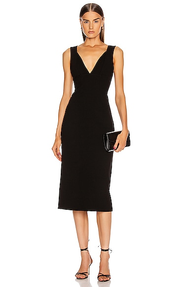 VICTORIA BECKHAM Cami Fitted Dress