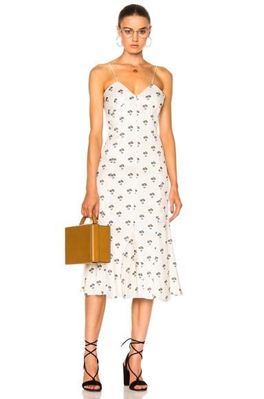 Cami Flare Midi Dress