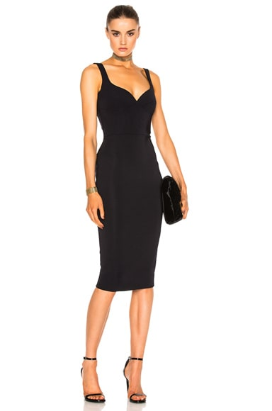 Dense Rib Cami Curve Fitted Dress