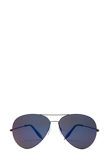 Feather Aviator Sunglasses