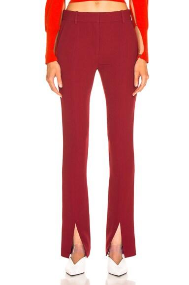 Front Split Skinny Trouser