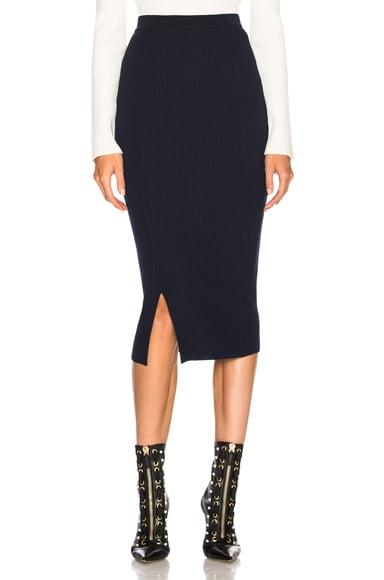 Compact Rib Signature Skirt