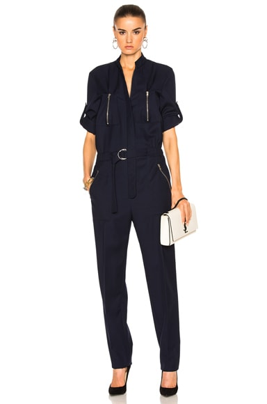 Zip Pocket Jumpsuit