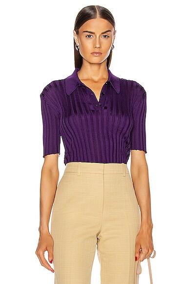 Victoria Beckham Slim Fit Polo Shirt
