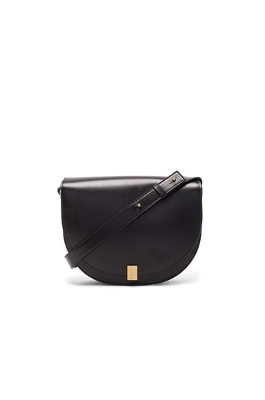 Half Moon Box Bag in Black