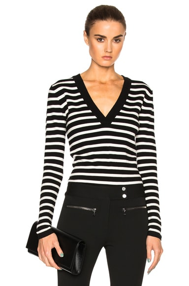 Decade Striped Bodysuit